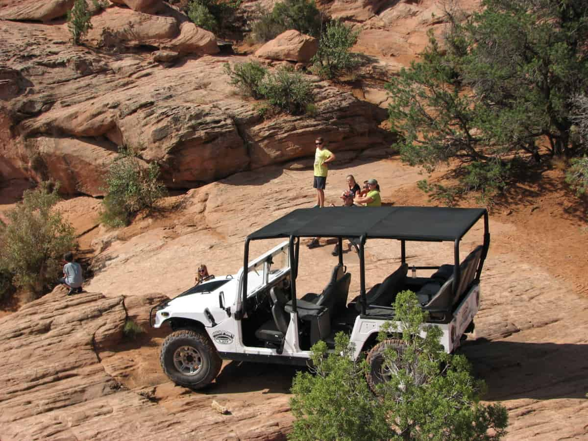 Hummer-tour Moab