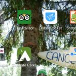 Top fem over de bedste apps til din rejse