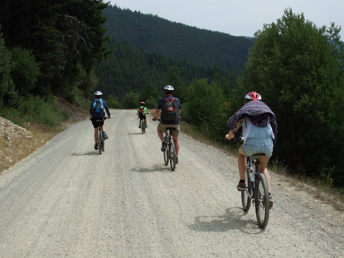 Hiawatha trail Idaho-Montana