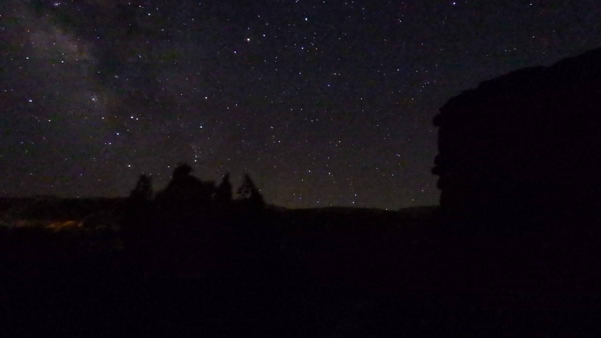 Stjerneklart i Palo Duro