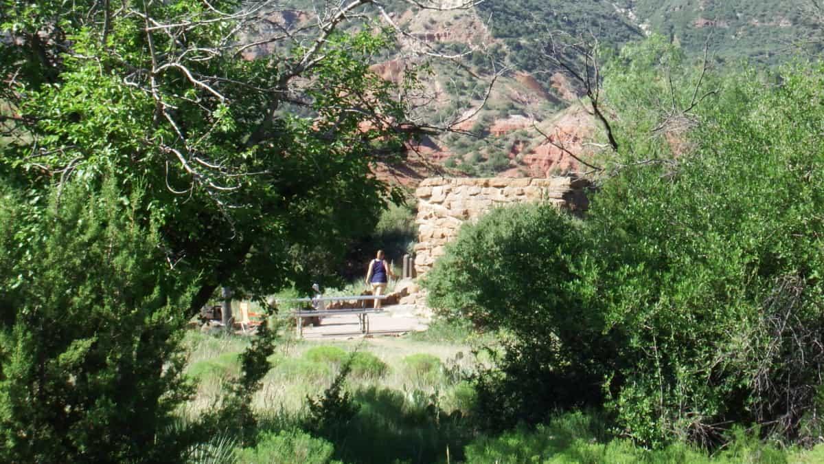 Hytte i Palo Duro