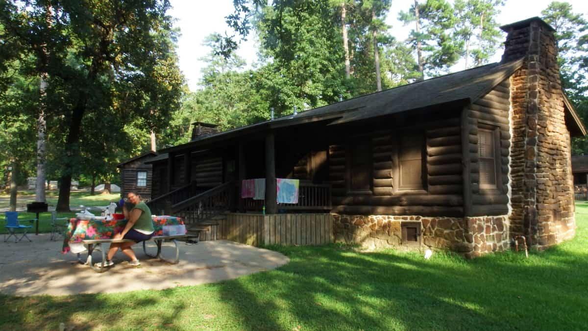 Cabin Caddo Lake State Park