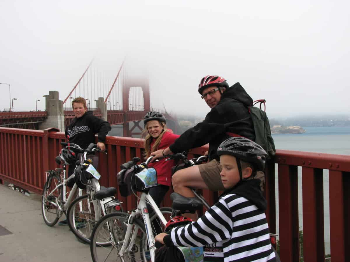 Cycling Golden Gate