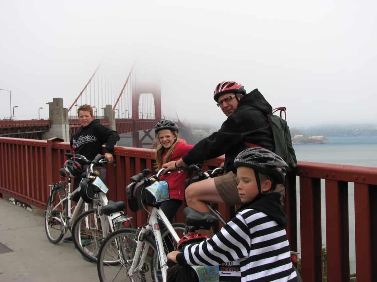 Cycling Golden Gate