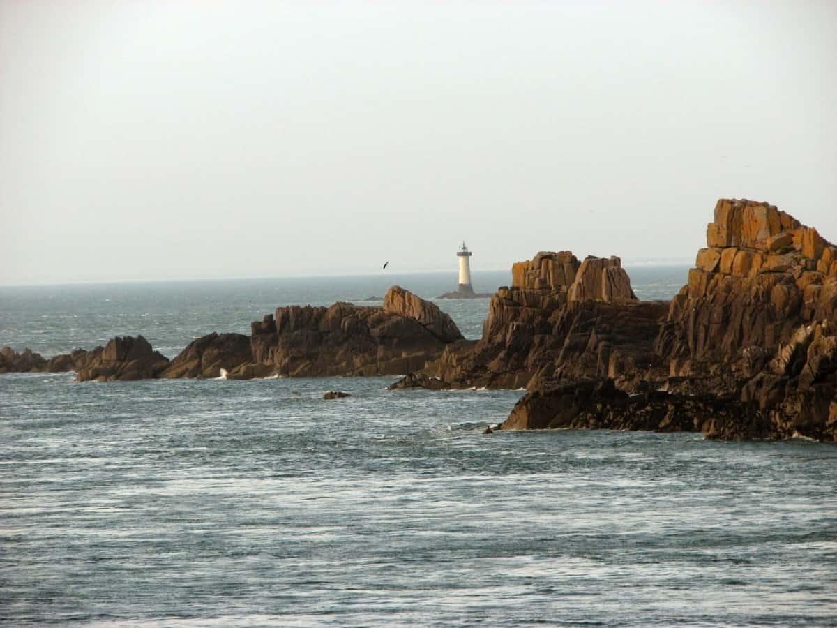 Kyststrækning i Bretagne