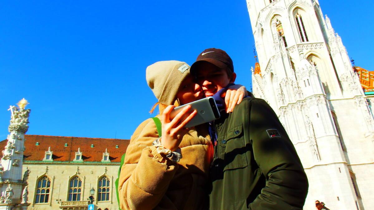 Budapest med teenagere