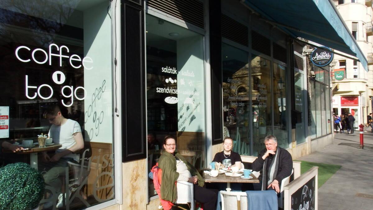 coffeebreak in budapest