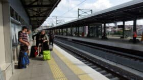 train in istanbul