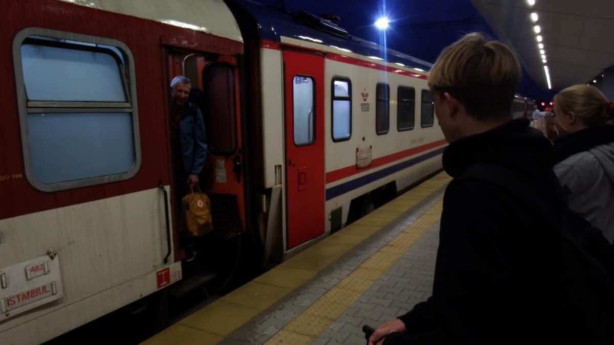 Nattog fra Sofia til Istanbul