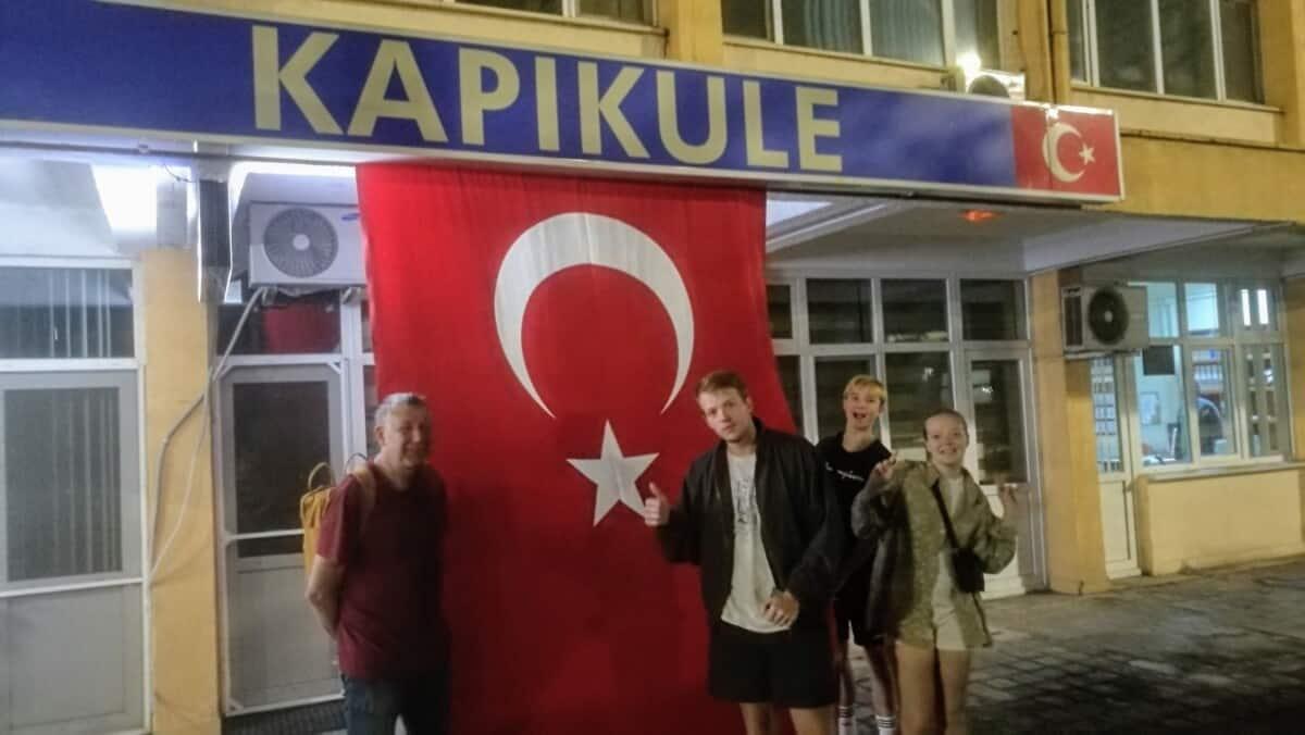 Grænsekontrol mellem Bulgarien og Tyrkiet