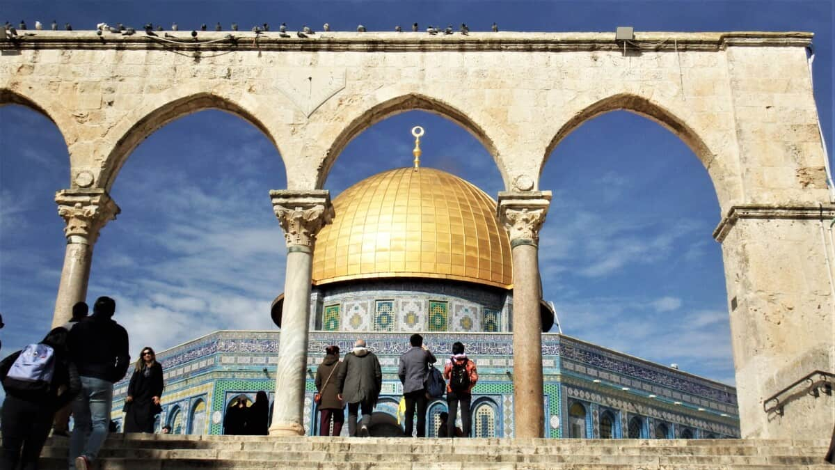 Temple Mount and Temple Dome