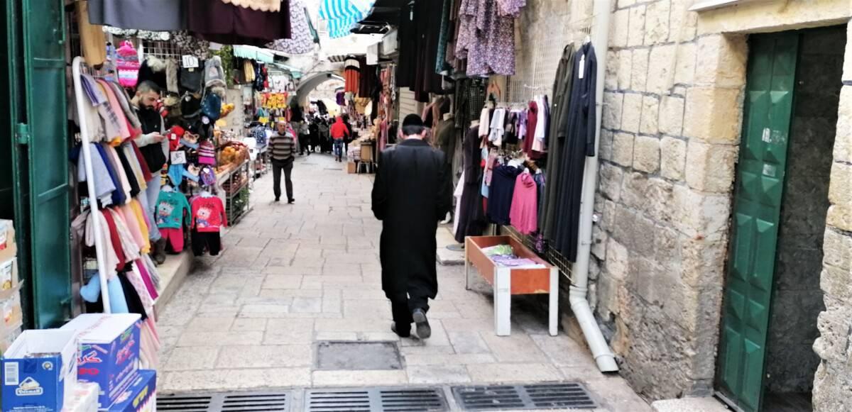 Den gamle by i Jerusalem