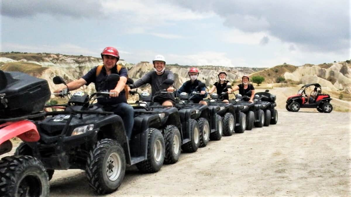 ATV-tour i Cappadocia, Turkey