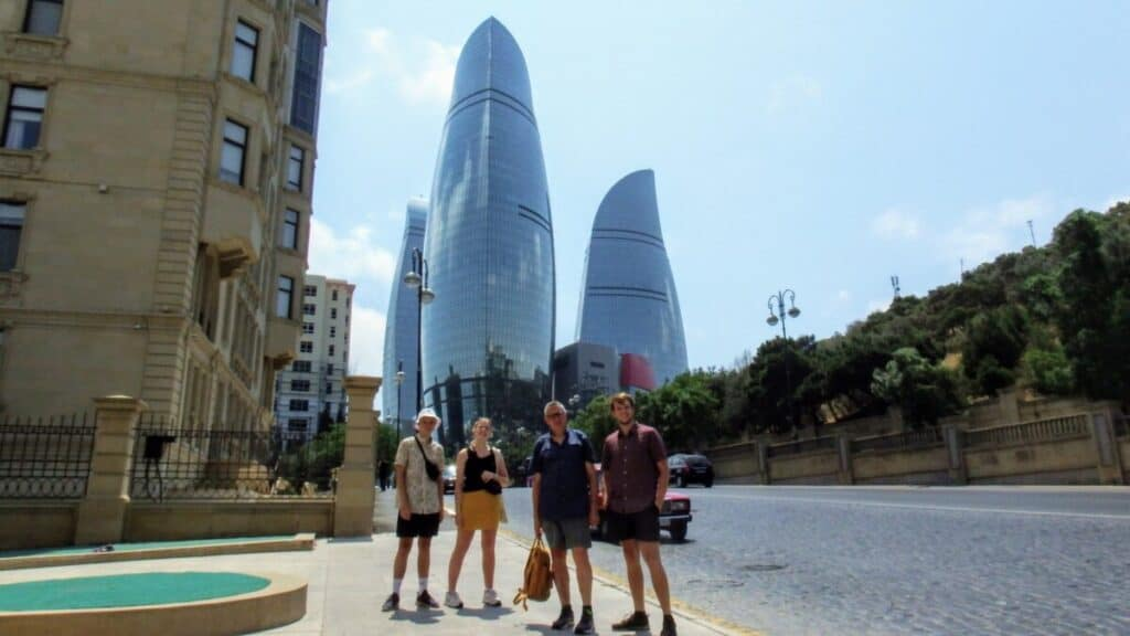 Flame Towers, Baku Azerbaijan