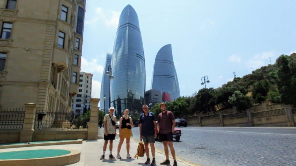 Flame Towers, Baku Azerbaijan