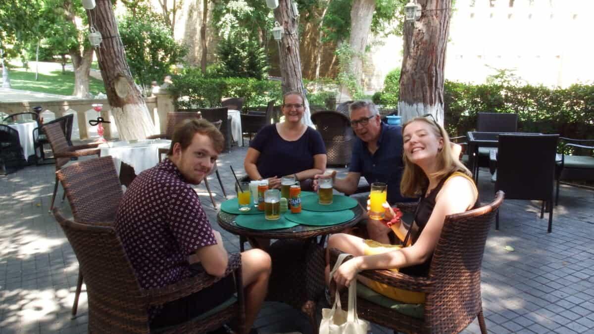 Café in Baku Azerbaijan
